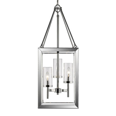 Smyth 3-Light Pendant in Chrome