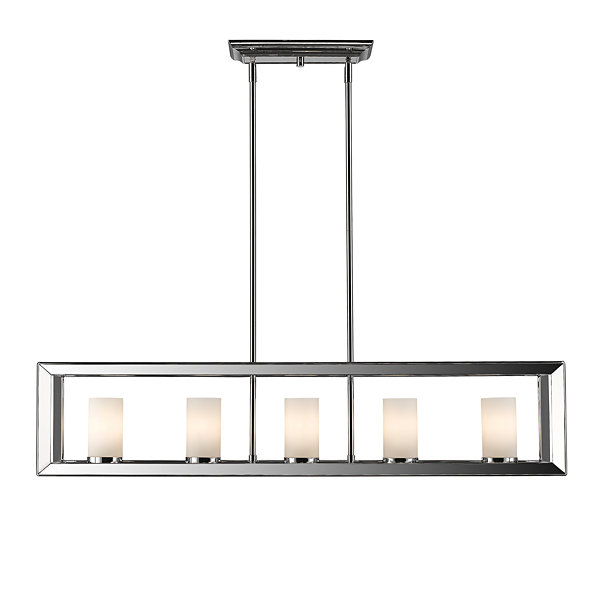 Smyth 5-Light Linear Pendant in Chrome
