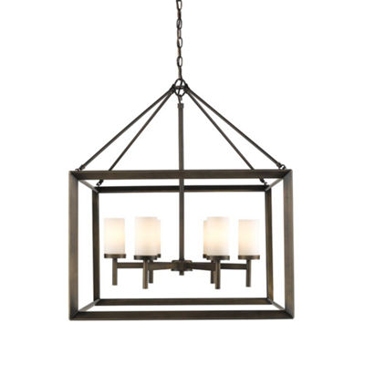 Smyth 6-Light Chandelier in Gunmetal Bronze