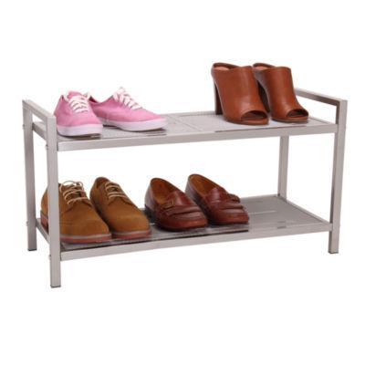 Household Essentials 2-Tier Shoe Shelf