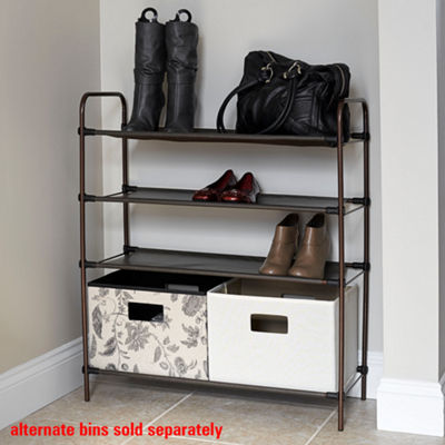 Household Essentials Craft and Shoe Storage Unit
