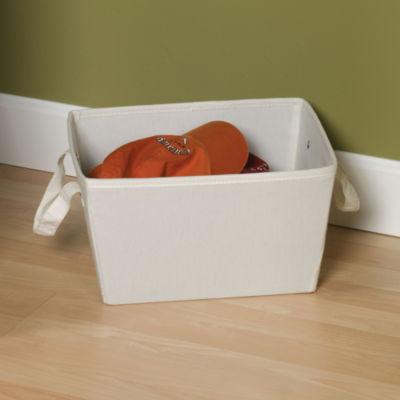 Household Essentials Canvas Storage Bin