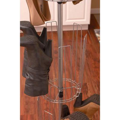 Household Essentials 3-Tier Carousel Boot Tree