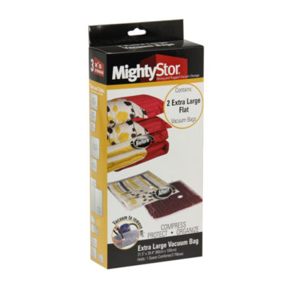 Household Essentials 3-PC MightyStor Extra-Large Vacuum Storage Bags