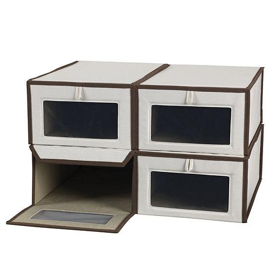Household Essentials 4-PC Vision Storage Box Set