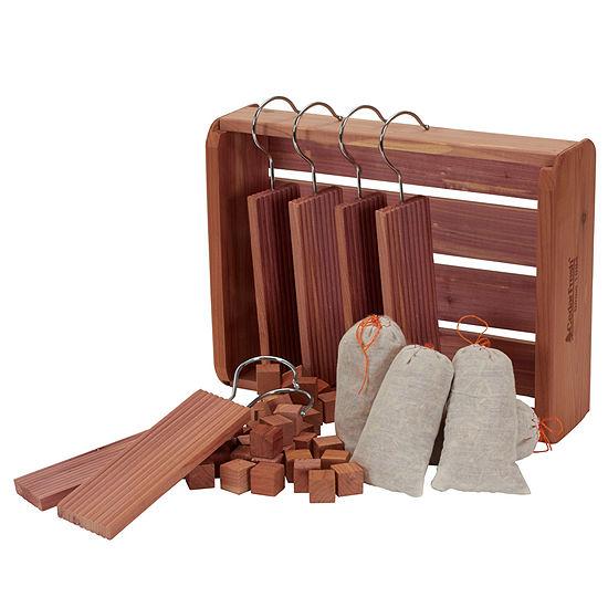 Household Essentials Cedar Fresh Starter Storage Accessory Set