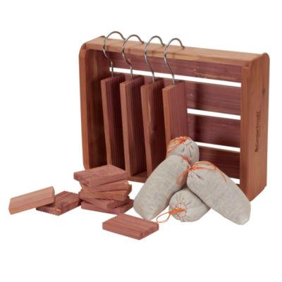 Household Essentials Cedar Fresh Deluxe Storage Accessory Set