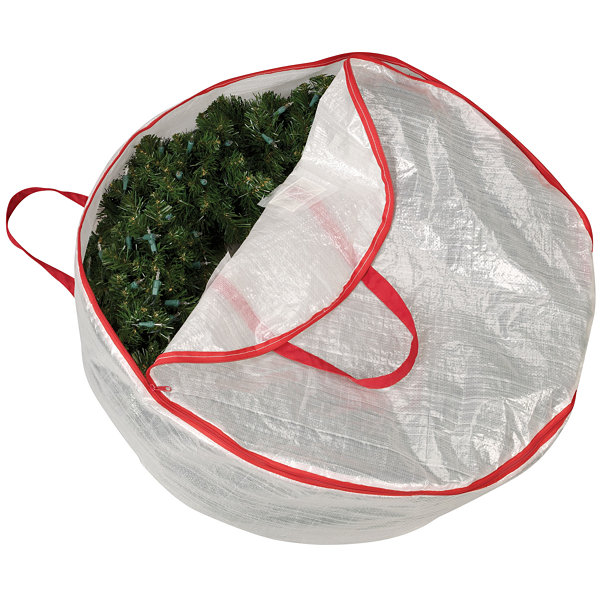 Household Essentials Wreath Bag