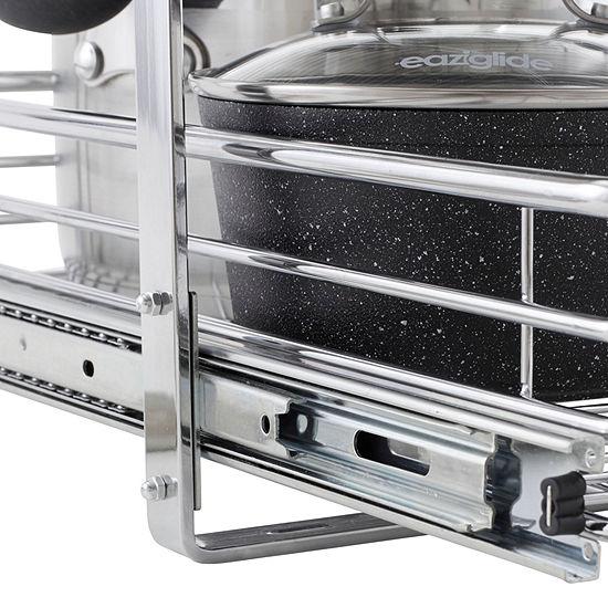 """Household Essentials GLIDEZ 2-Tier 14.5"""" Sliding Undercabinet Storage"""