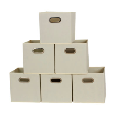 Household Essentials 6 PC Storage Cube Set