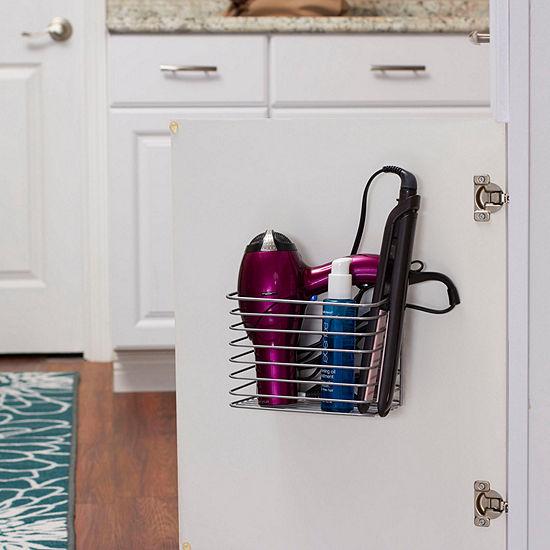 Household Essentials Cabinet Door Organizer Storage Basket