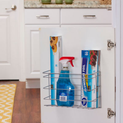 Household Essentials Door Mount Kitchen Wrap Holder