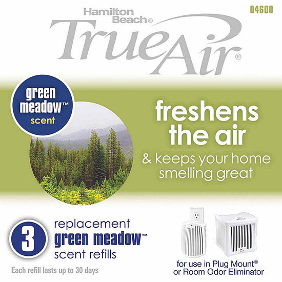 Hamilton Beach True Air Replacement Green Meadow Scent Refills