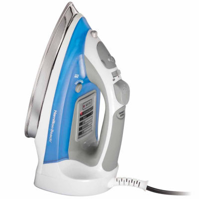 Hamilton Beach Electronic Iron with Spray, Burst, and Vertical Steam