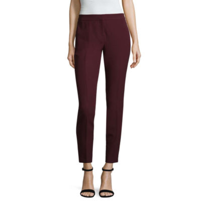 Worthington Luxe Stretch Slim Leg Pants