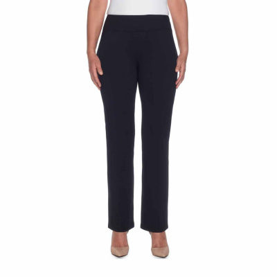 Alfred Dunner Easy Going Relaxed Fit Knit Pull-On Pants