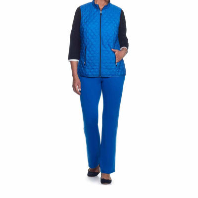 Alfred Dunner Easy Going Quilted Vest