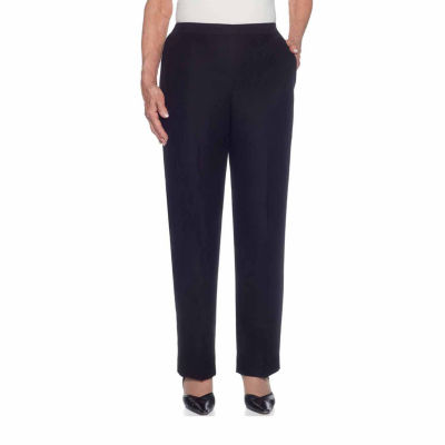 Alfred Dunner Gypsy Moon Denim Flat Front Pants