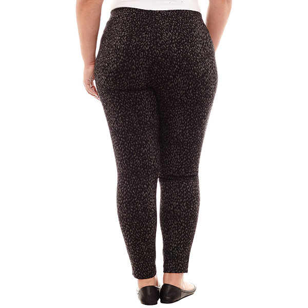 "St. John's Bay 5 Pocket Ponte Jeggings-Plus (29"")"