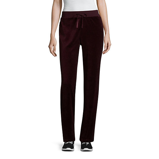 99fa389688f97 St Johns Bay Active Velour Pull On Pants JCPenney
