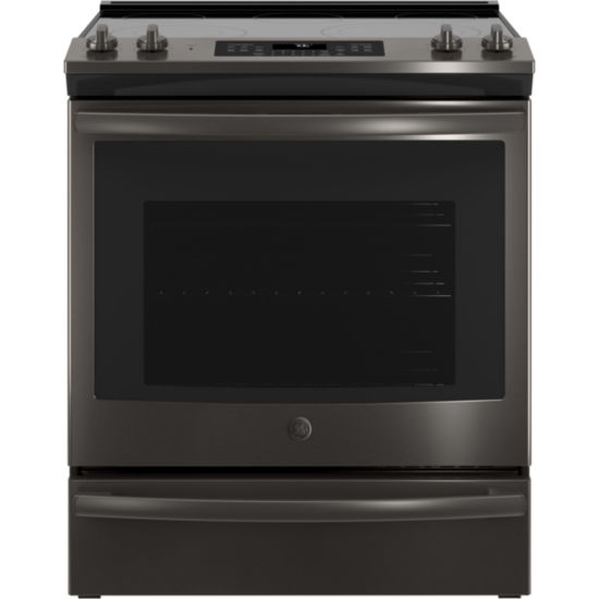 GE® 5.3 cu. ft. Slide-In Electric Range with Self-Cleaning Convection Oven