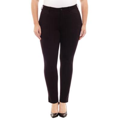 Boutique + Ponte Pants - Plus