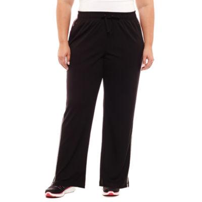 St. John's Bay Active® Mesh Workout Pants - Plus