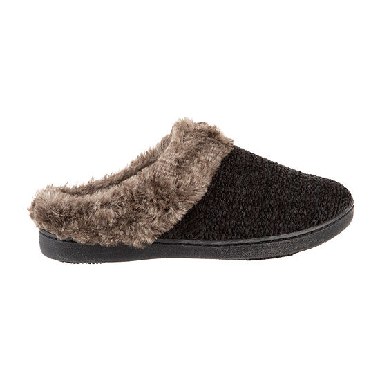 Isotoner Chenille Clog Slippers