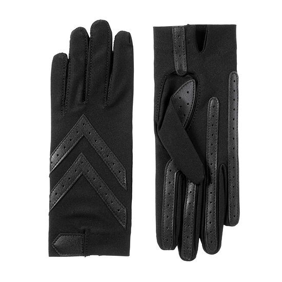 Isotoner Cold Weather Spandex Shortie Glove with SmartDRI