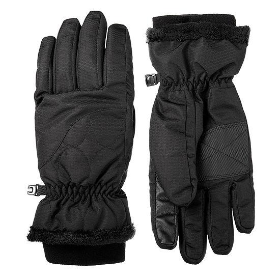 Isotoner Cold Weather Waterproof Ski Glove