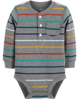 Carter's Long Sleeve Bodysuits - Baby Boy