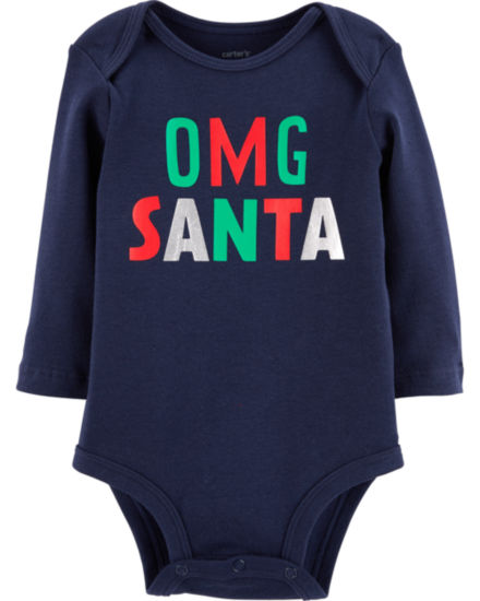 Carter's Long Sleeve Bodysuit NB - 24M