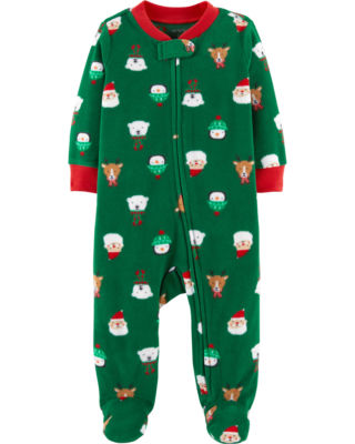 Carter's Fleece Xmas Sleep and Play - Baby Boy