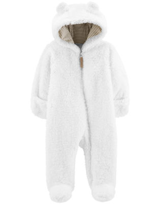 Carter's Sherpa One piece Pram Suit-Baby Unisex