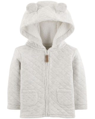 Carter's Unisex Midweight Quilted Jacket-Baby