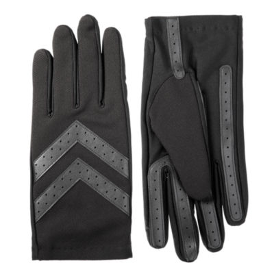 Isotoner Mens Woven Cold Weather Gloves