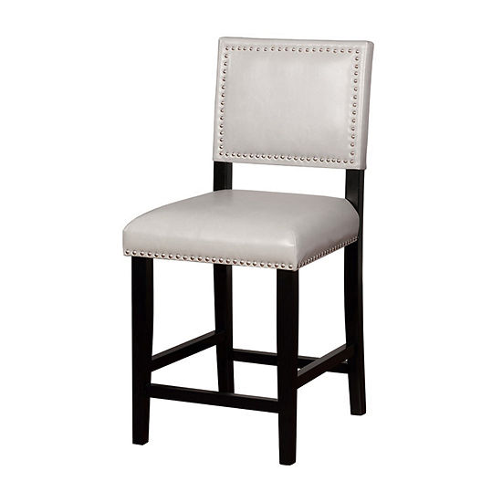 Blake Upholstered Nailhead Trim Counter Stool