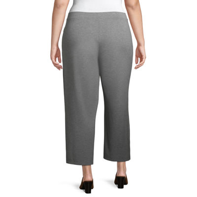 Liz Claiborne Studio Cropped Pant - Plus