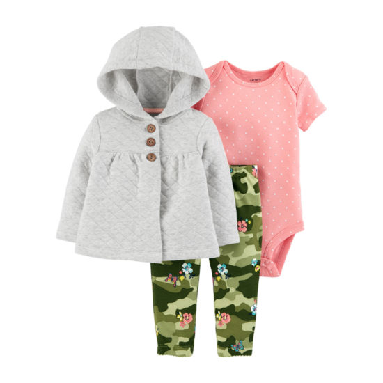 Carter's 3-pc. Bodysuit Set-Baby Girls
