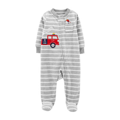 Carter's Fleece Sleep and Play - Baby Boy