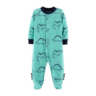 Carter's Fleece Sleep and Play - Baby Boy