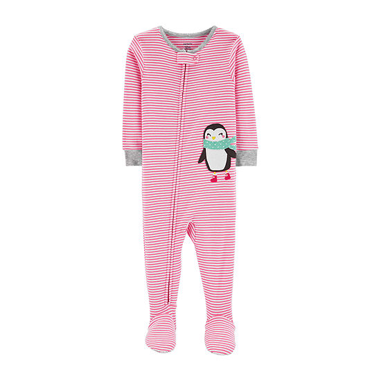 c08251ff6 Carters Long Sleeve One Piece Pajama Toddler Girls JCPenney