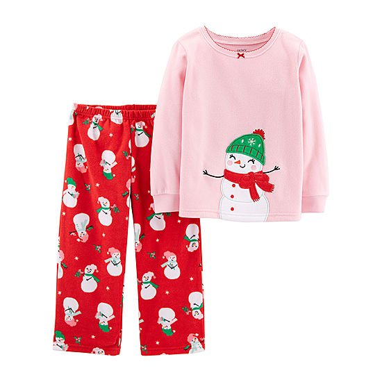 014a9cb17 2 piece christmas cat fleece pjs loading zoom. get quotations ...