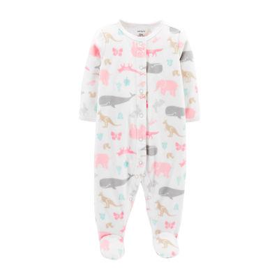 Carter's 1pc Fleece Sleep and Play - Baby Boy