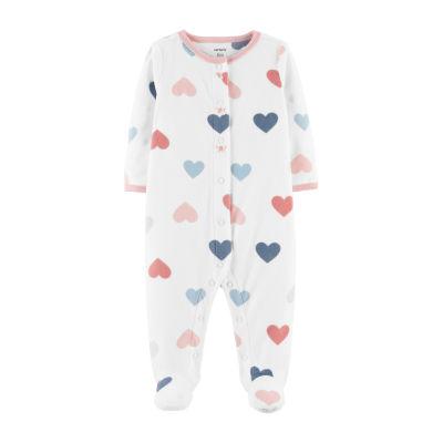 Carter's 1pc Fleece Sleep and Play - Baby Girl