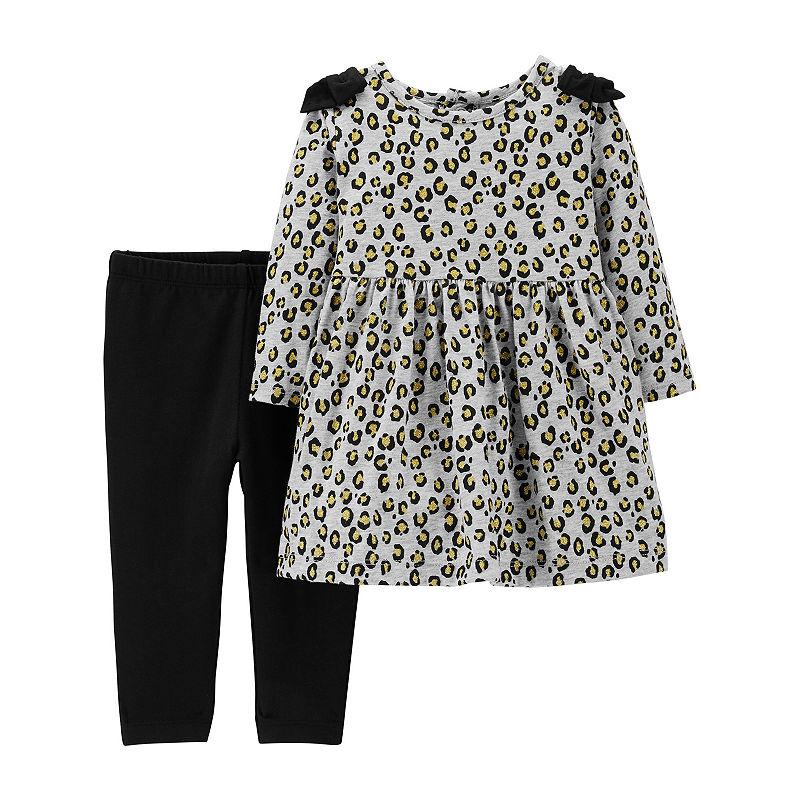 Carters 2-Pc. Dress & Legging Set – Baby Girl
