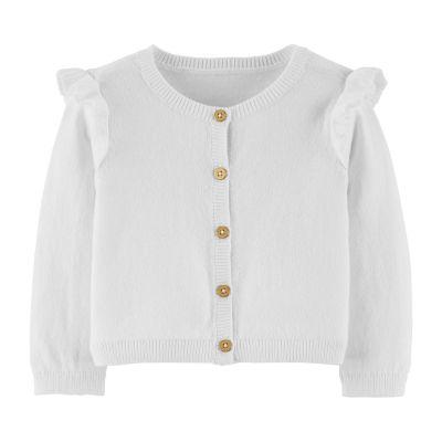 Carter's Long Sleeve Sweater - Baby Girls