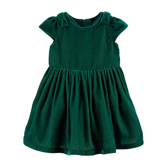 Carter's Girls Short Sleeve Dress Set - Baby