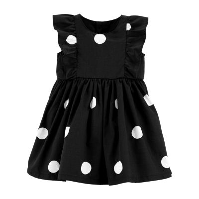 Carter's Polka Dot Ruffle Dress - Baby Girls