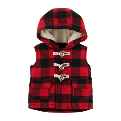 Carter's Checked Puffer Vest Preschool Boys